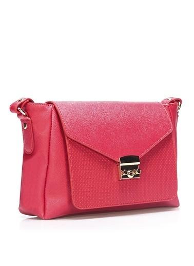 İnci Messenger / Askılı Çanta Kırmızı